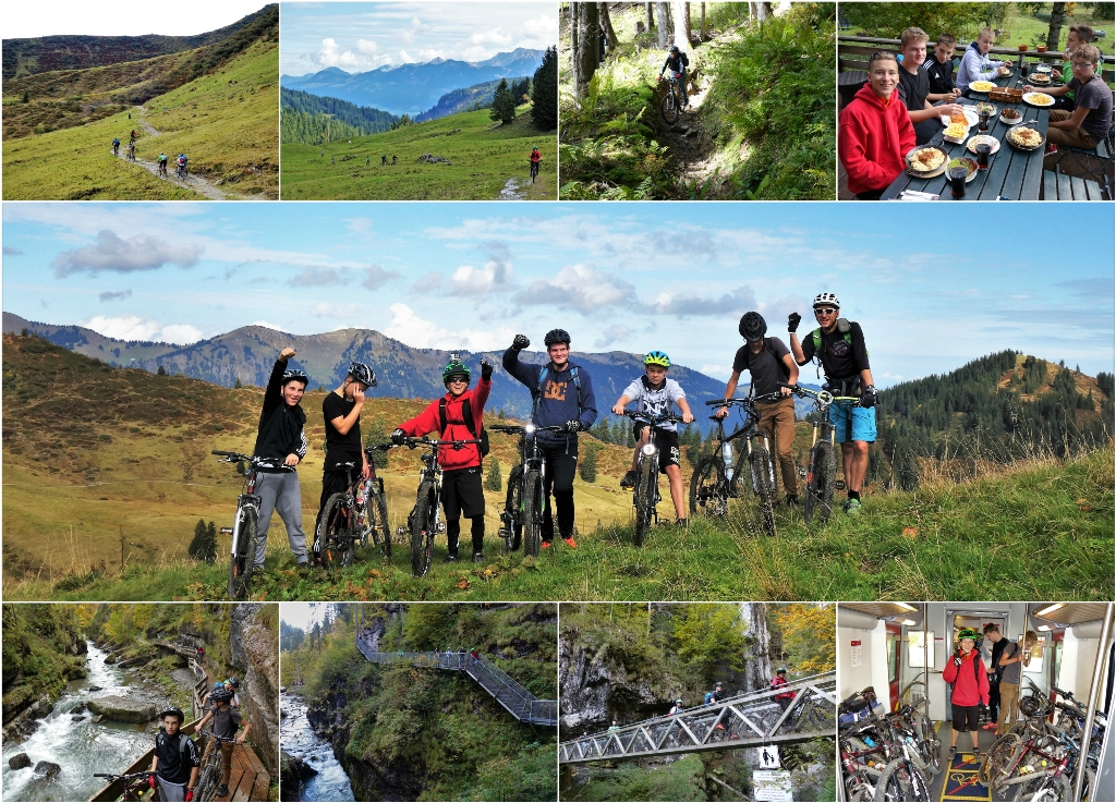 9. MtB Tour Collage